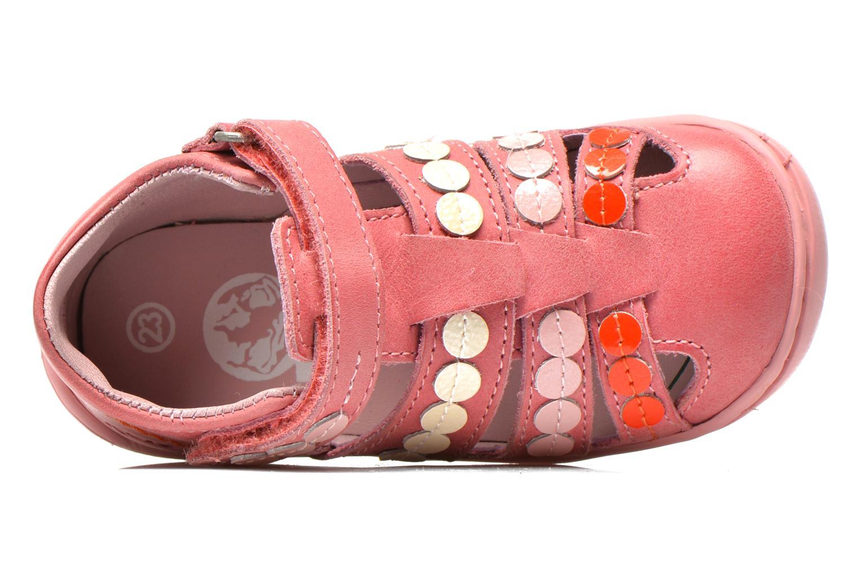Sandales et nu-pieds Kickers Gift Kids Rose vue gauche
