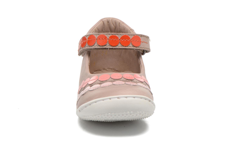 Ballerinas Kickers Girly beige schuhe getragen