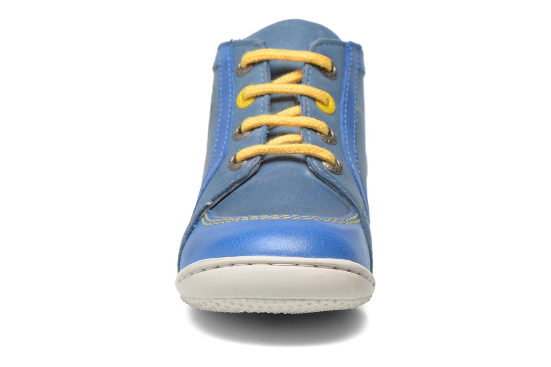 Bottines et boots Kickers Gurgle Bleu vue portées chaussures