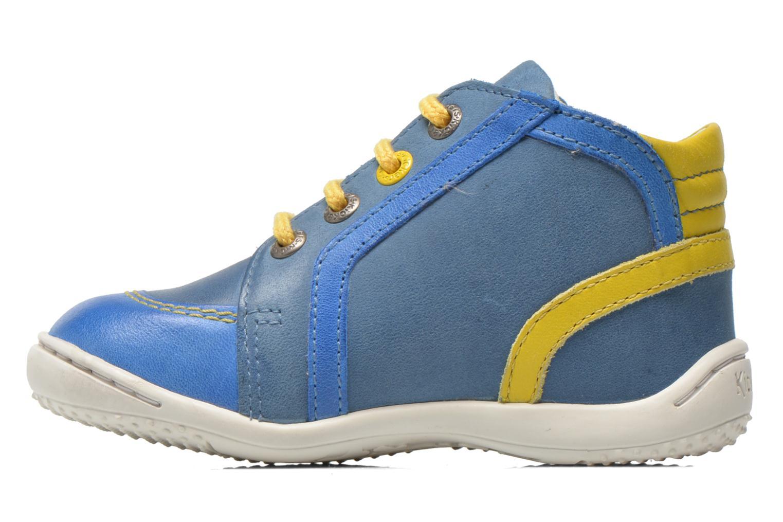 Bottines et boots Kickers Gurgle Bleu vue face