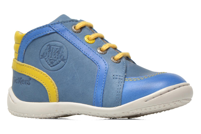 Bottines et boots Kickers Gurgle Bleu vue derrière
