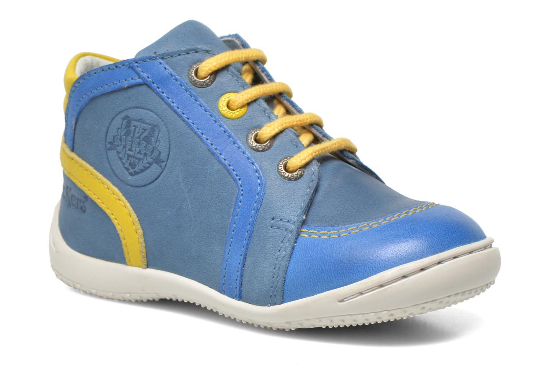 Bottines et boots Kickers Gurgle Bleu vue détail/paire
