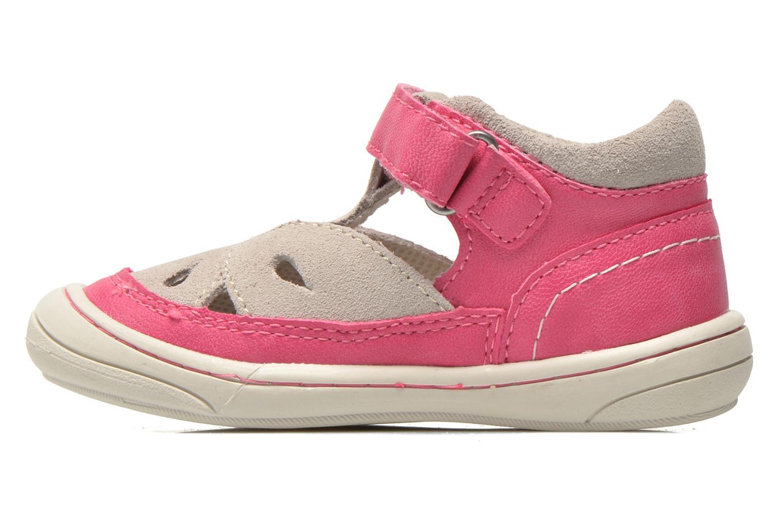 Sandales et nu-pieds Kickers Zela Rose vue face