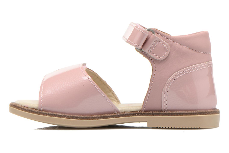 Sandaler Kickers Moonstar Pink se forfra