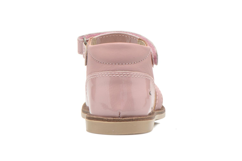 Sandaler Kickers Moonstar Pink Se fra højre