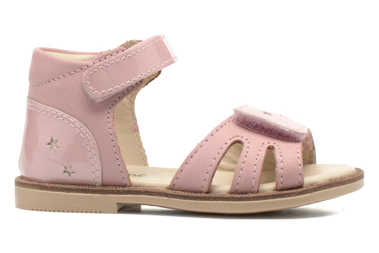 Sandaler Kickers Moonstar Pink se bagfra