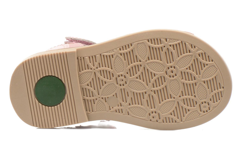 Sandales et nu-pieds Kickers Moonstar Rose vue haut