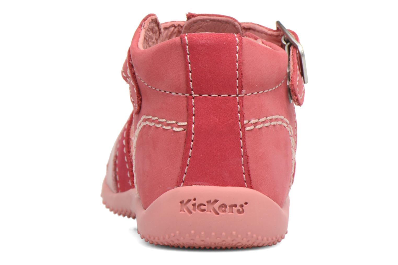 Sandales et nu-pieds Kickers Bigfly Rose vue droite