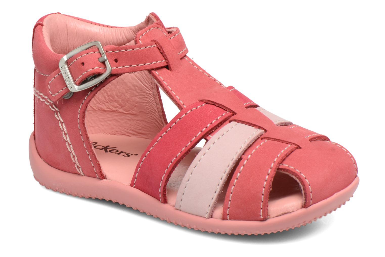 Sandales et nu-pieds Kickers Bigfly Rose vue détail/paire
