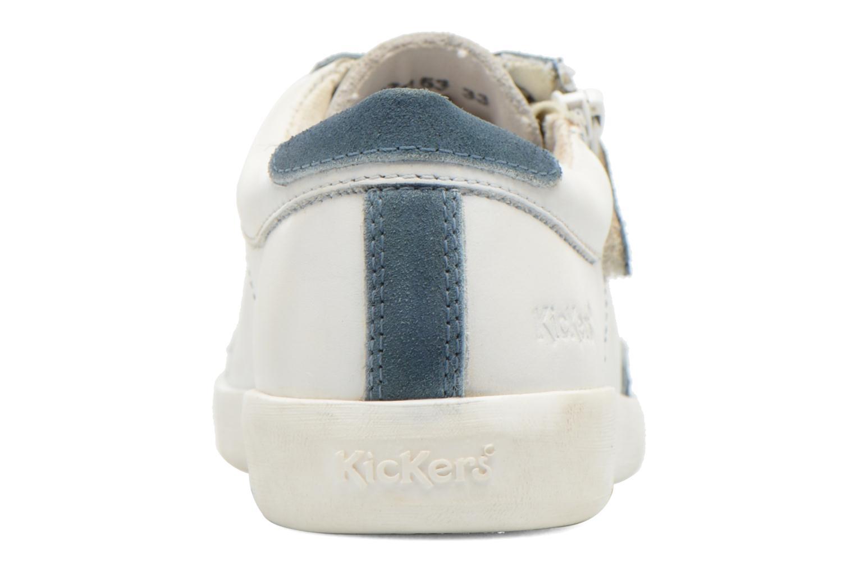 Baskets Kickers Hameri Blanc vue droite
