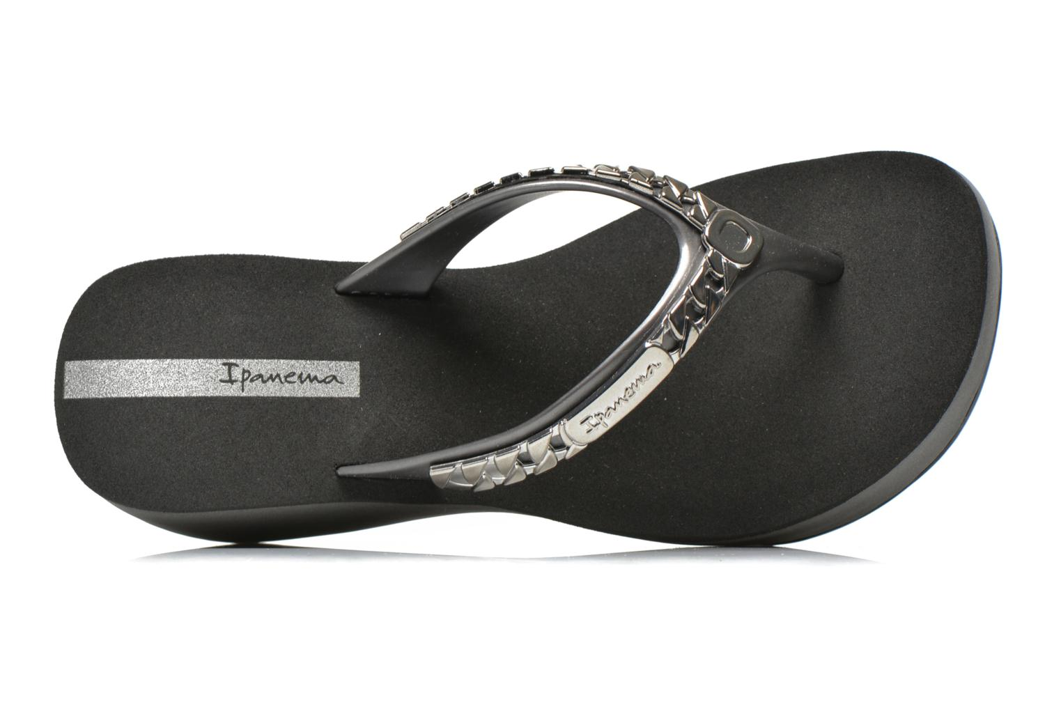 Flip flops Ipanema Lipstick Chains Black view from the left