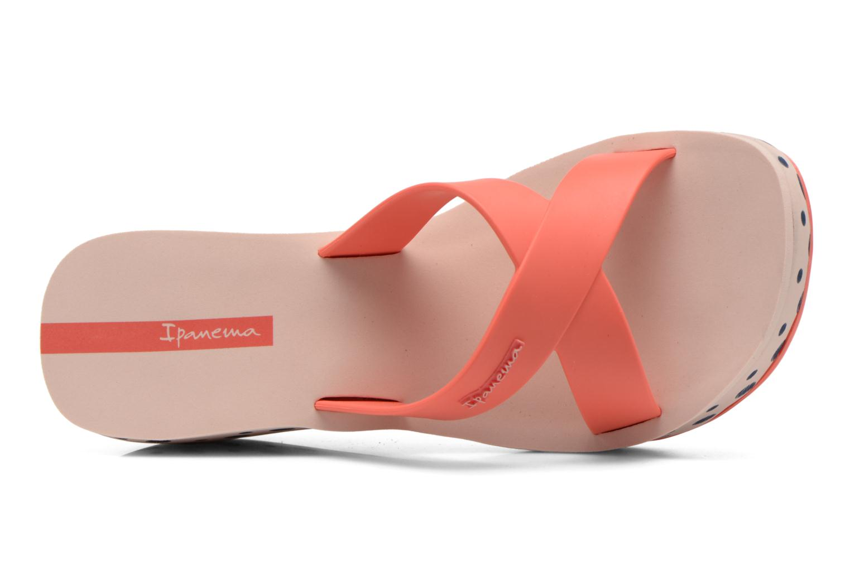 Clogs & Pantoletten Ipanema Lipstick Straps II rosa ansicht von links