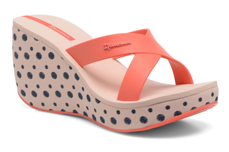 Clogs & Pantoletten Ipanema Lipstick Straps II rosa detaillierte ansicht/modell