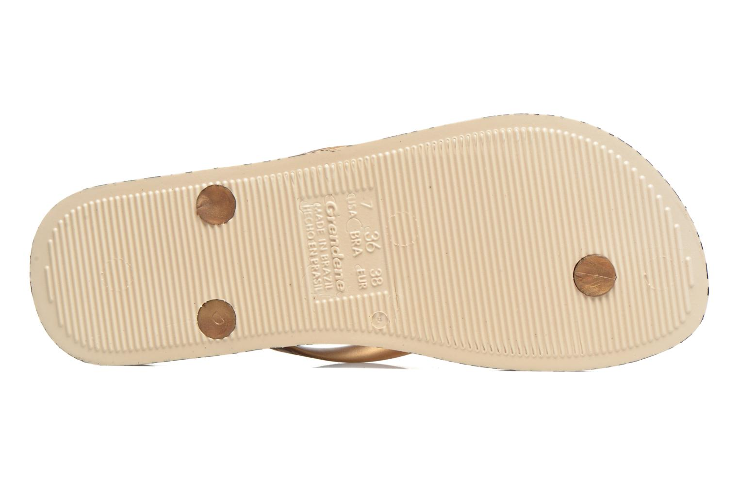 Flip flops Ipanema Anatomica Soft Beige view from above