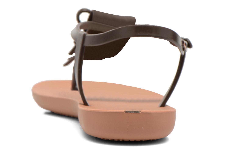 Sandales et nu-pieds Ipanema Charm Marron vue droite