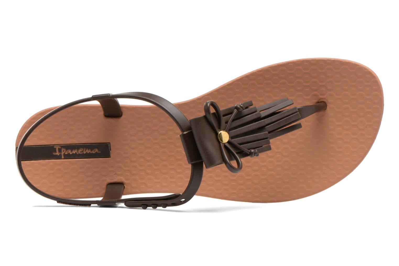 Sandales et nu-pieds Ipanema Charm Marron vue gauche