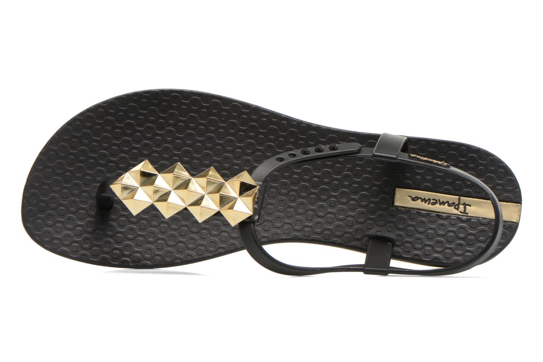Charm III Sandal Black/Black/Gold