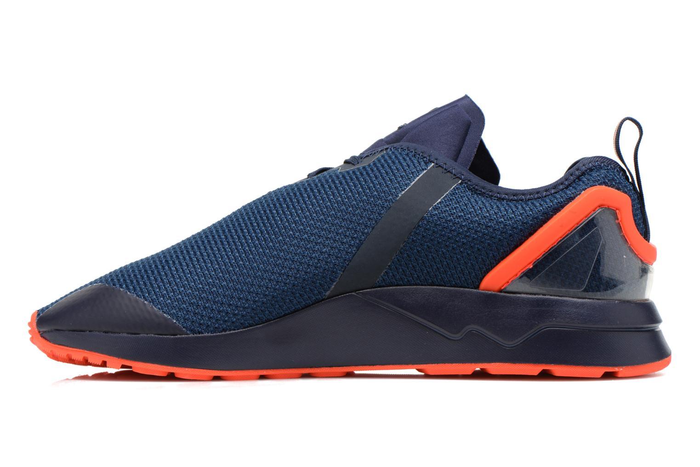 Sneaker Adidas Originals Zx Flux Adv Asym blau ansicht von vorne