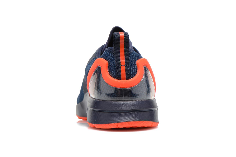 Sneaker Adidas Originals Zx Flux Adv Asym blau ansicht von rechts