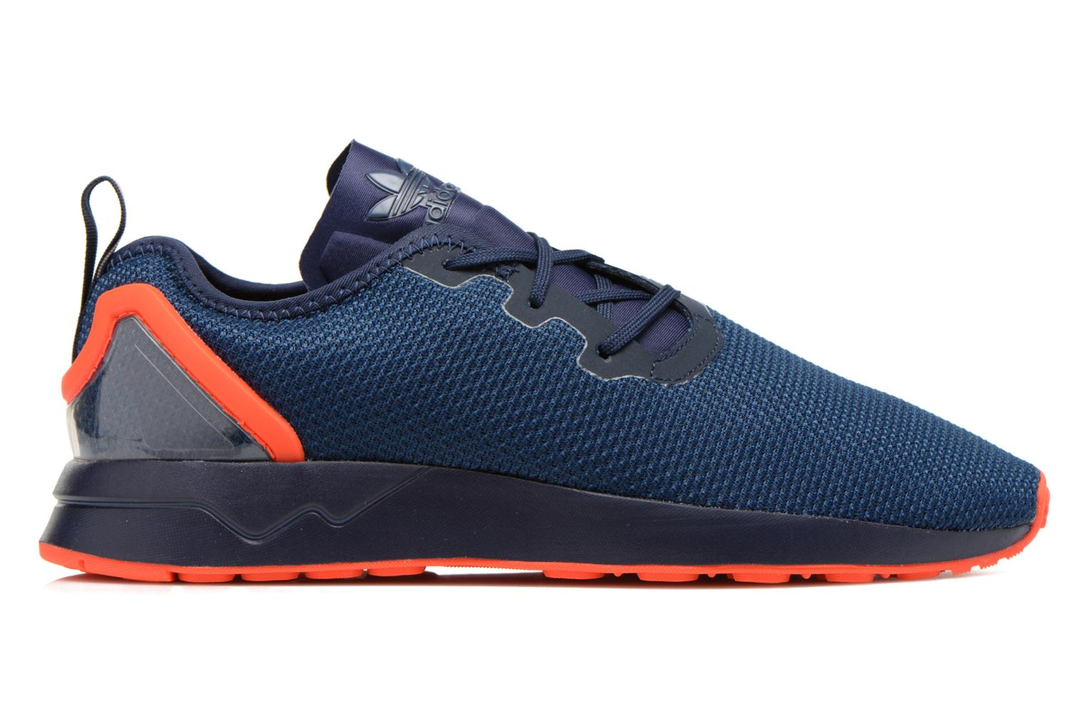 Trainers Adidas Originals Zx Flux Adv Asym Blue back view