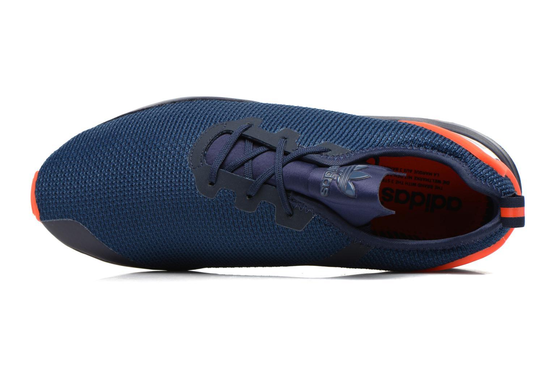 Sneaker Adidas Originals Zx Flux Adv Asym blau ansicht von links