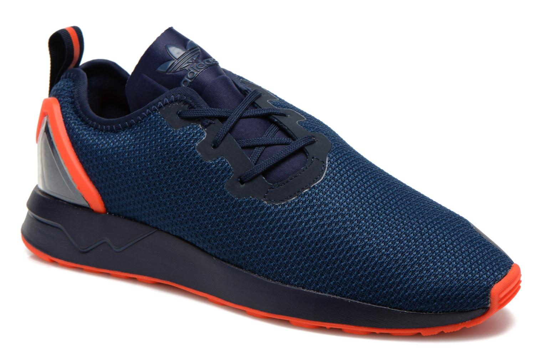 Trainers Adidas Originals Zx Flux Adv Asym Blue detailed view/ Pair view