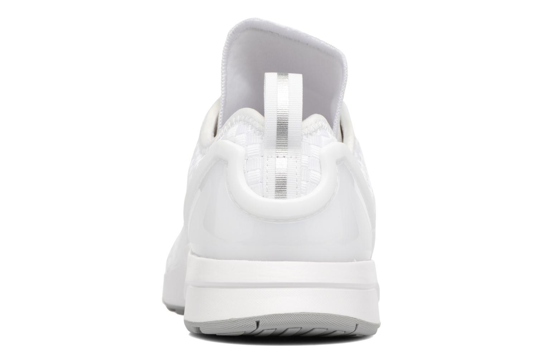 Baskets Adidas Originals Zx Flux Adv Asym Blanc vue droite