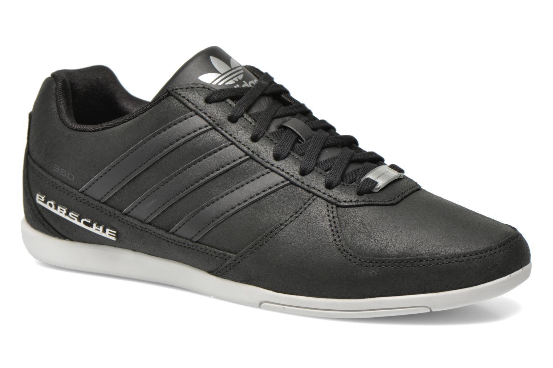 Trainers Adidas Originals Porsche 360 1.2 Suede Black detailed view/ Pair  view