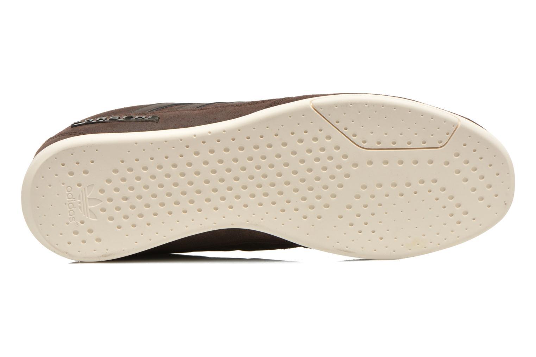 Baskets Adidas Originals Porsche 360 1.2 Suede Marron vue haut