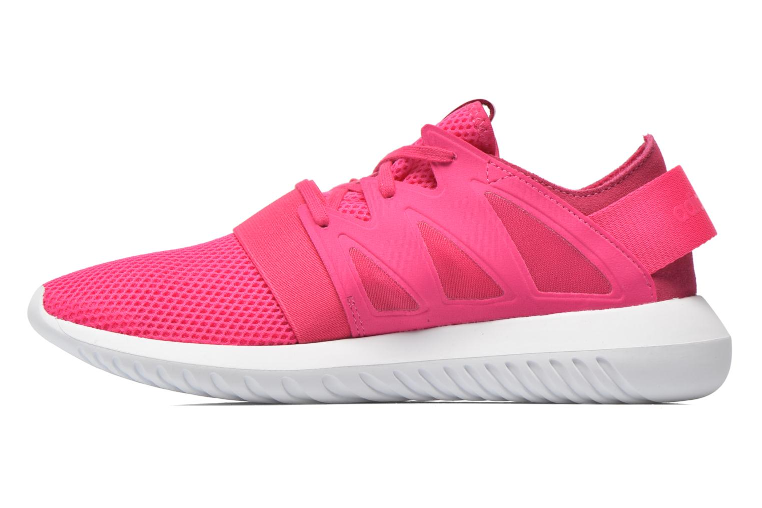 Trainers Adidas Originals Tubular Viral W Pink front view