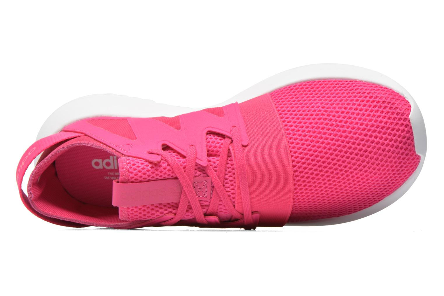 Trainers Adidas Originals Tubular Viral W Pink view from the left