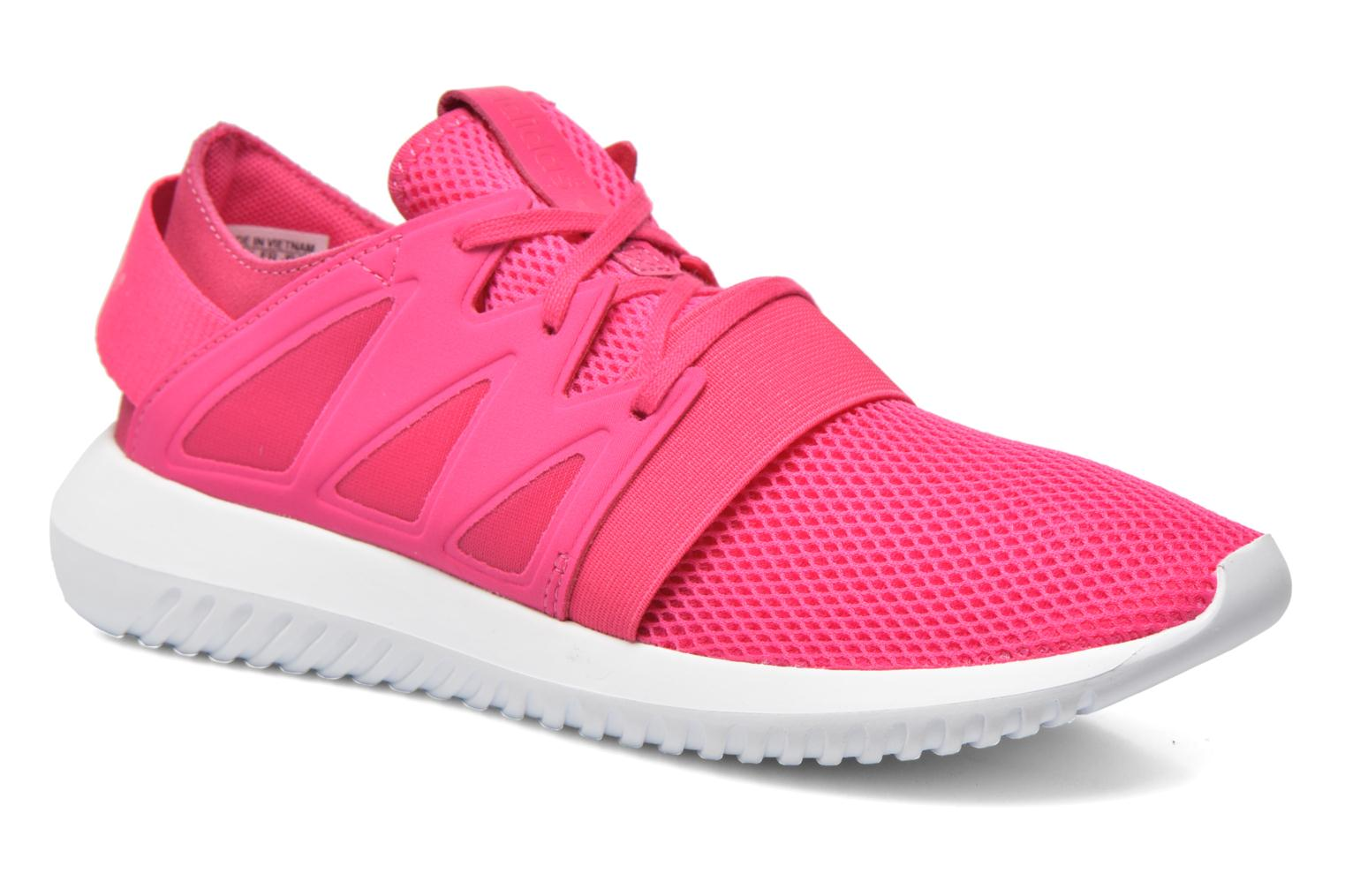 Trainers Adidas Originals Tubular Viral W Pink detailed view/ Pair view