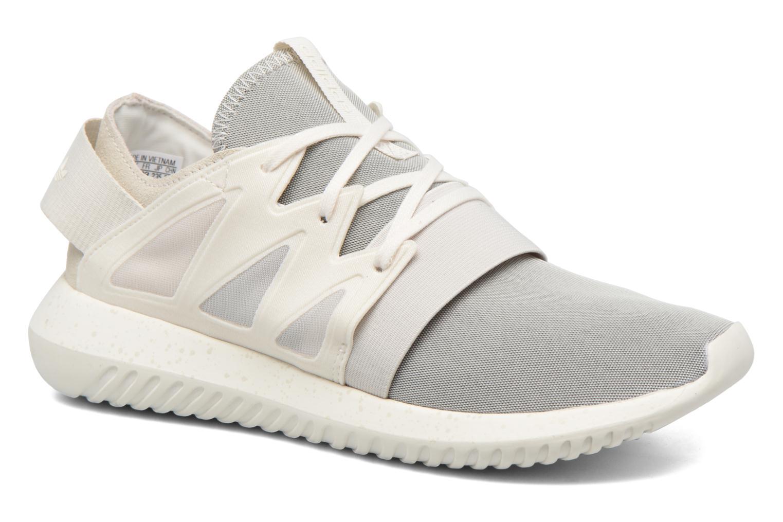Baskets Adidas Originals Tubular Viral W Blanc vue détail/paire