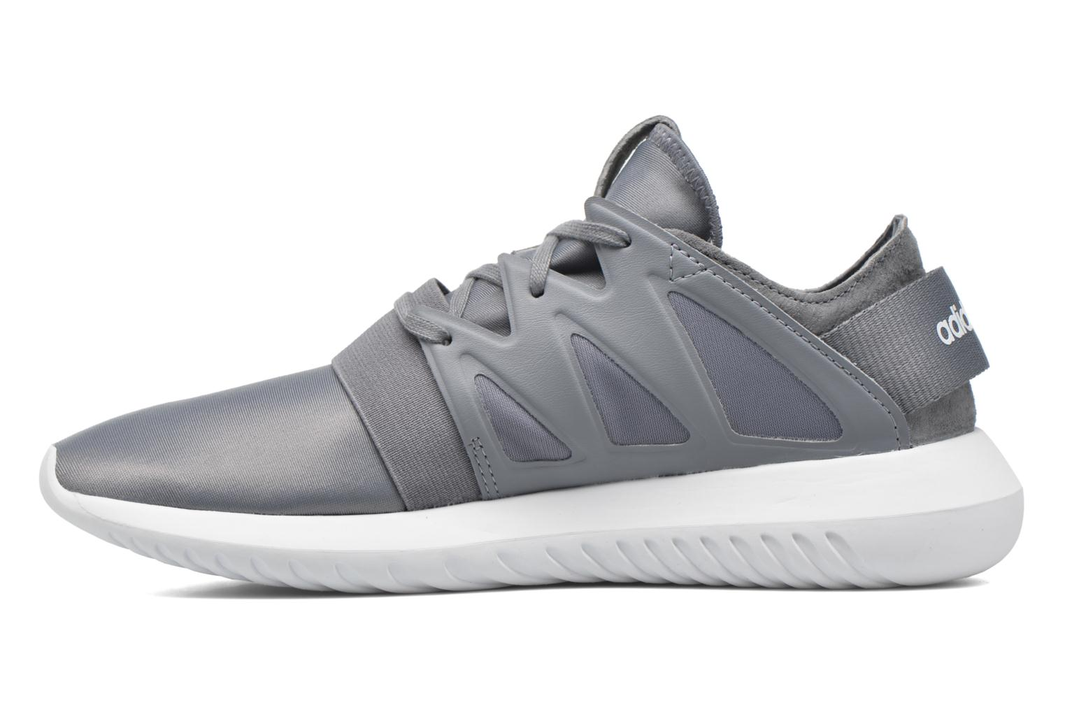 Trainers Adidas Originals Tubular Viral W Grey front view
