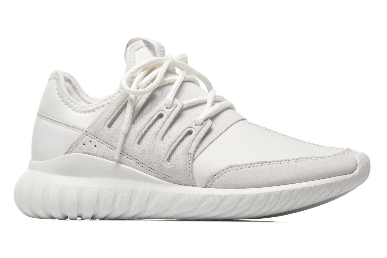 Baskets Adidas Originals Tubular Radial Blanc vue derrière