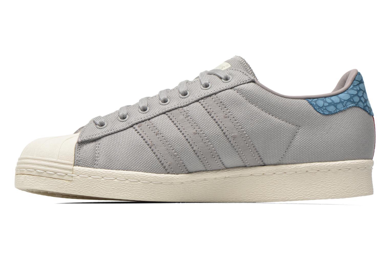 Sneakers Adidas Originals Superstar 80S Grigio immagine frontale
