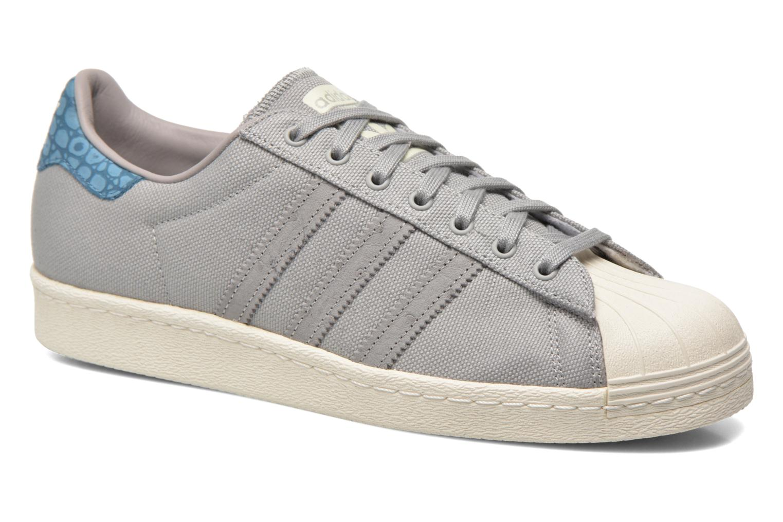 Baskets Adidas Originals Superstar 80S Gris vue détail/paire