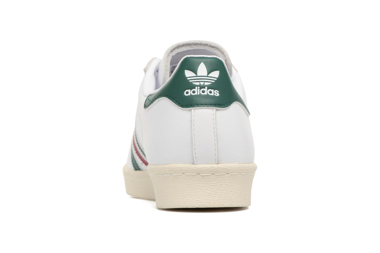 Baskets Adidas Originals Superstar 80S Blanc vue droite