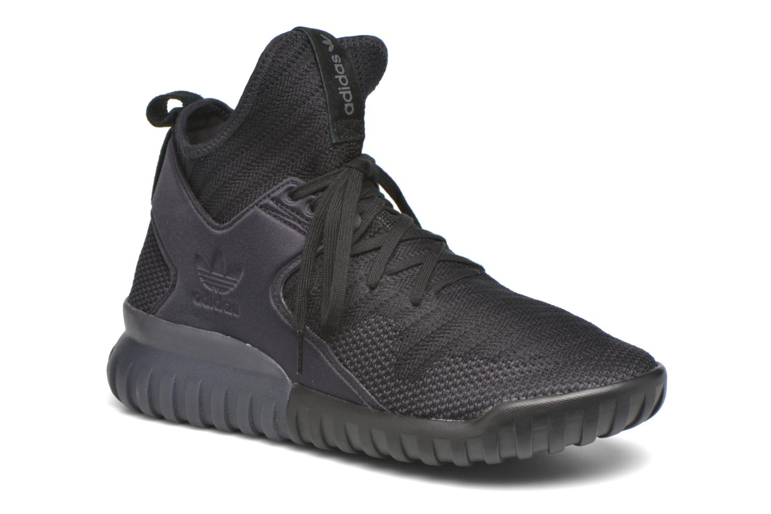 Baskets Adidas Originals Tubular X Pk Noir vue détail/paire