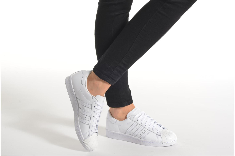 Zapatos especiales para hombres y mujeres Adidas Originals Superstar 80S Metal Toe W (Blanco) - Deportivas en Más cómodo