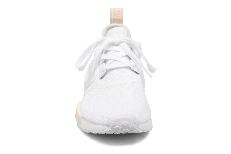 Baskets Adidas Originals Nmd_R1 W Blanc vue portées chaussures