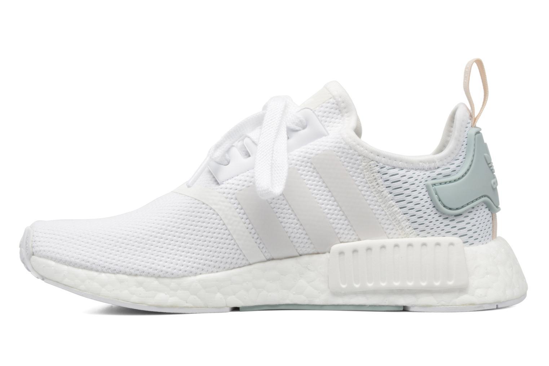 Sneaker Adidas Originals Nmd_R1 W weiß ansicht von vorne