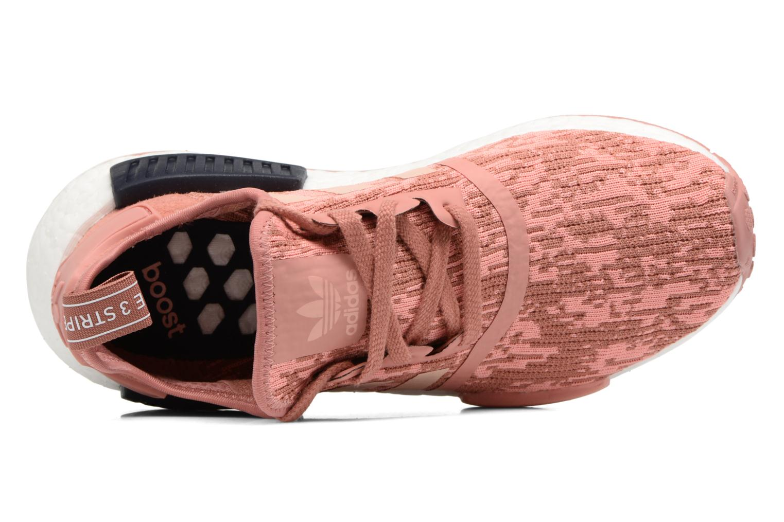 Trainers Adidas Originals Nmd_R1 W Pink view from the left