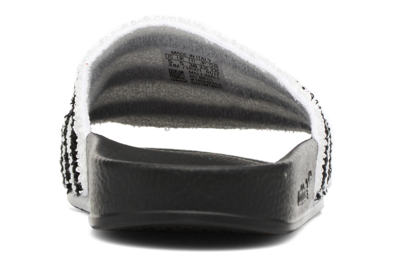 Zuecos Adidas Originals Adilette W Negro vista lateral derecha