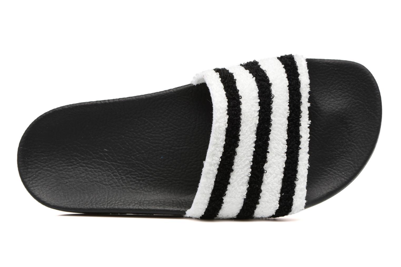 Zuecos Adidas Originals Adilette W Negro vista lateral izquierda