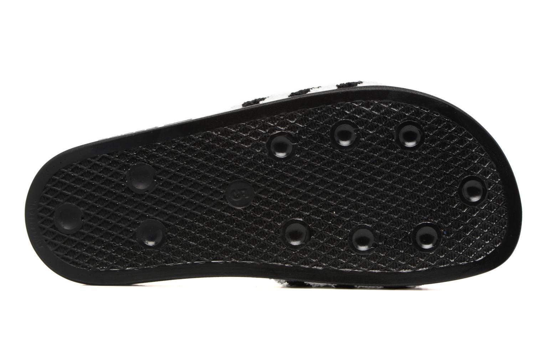 Zuecos Adidas Originals Adilette W Negro vista de arriba