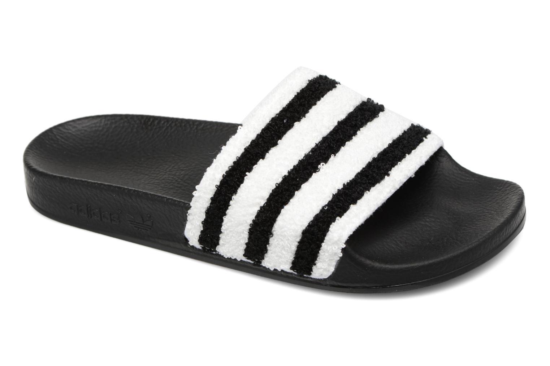 Zuecos Adidas Originals Adilette W Negro vista de detalle / par