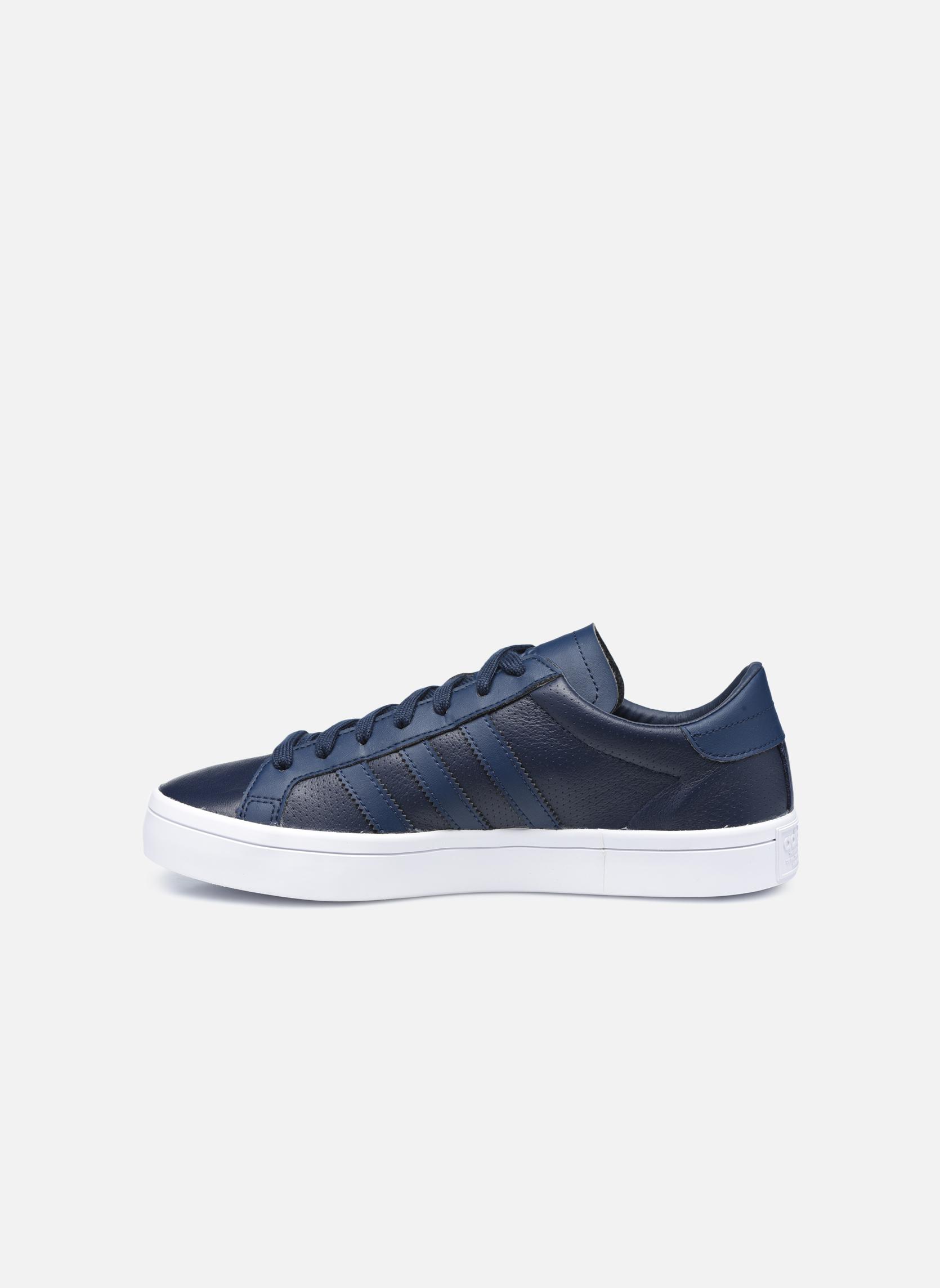 Sneakers Adidas Originals Court Vantage H Azzurro immagine frontale