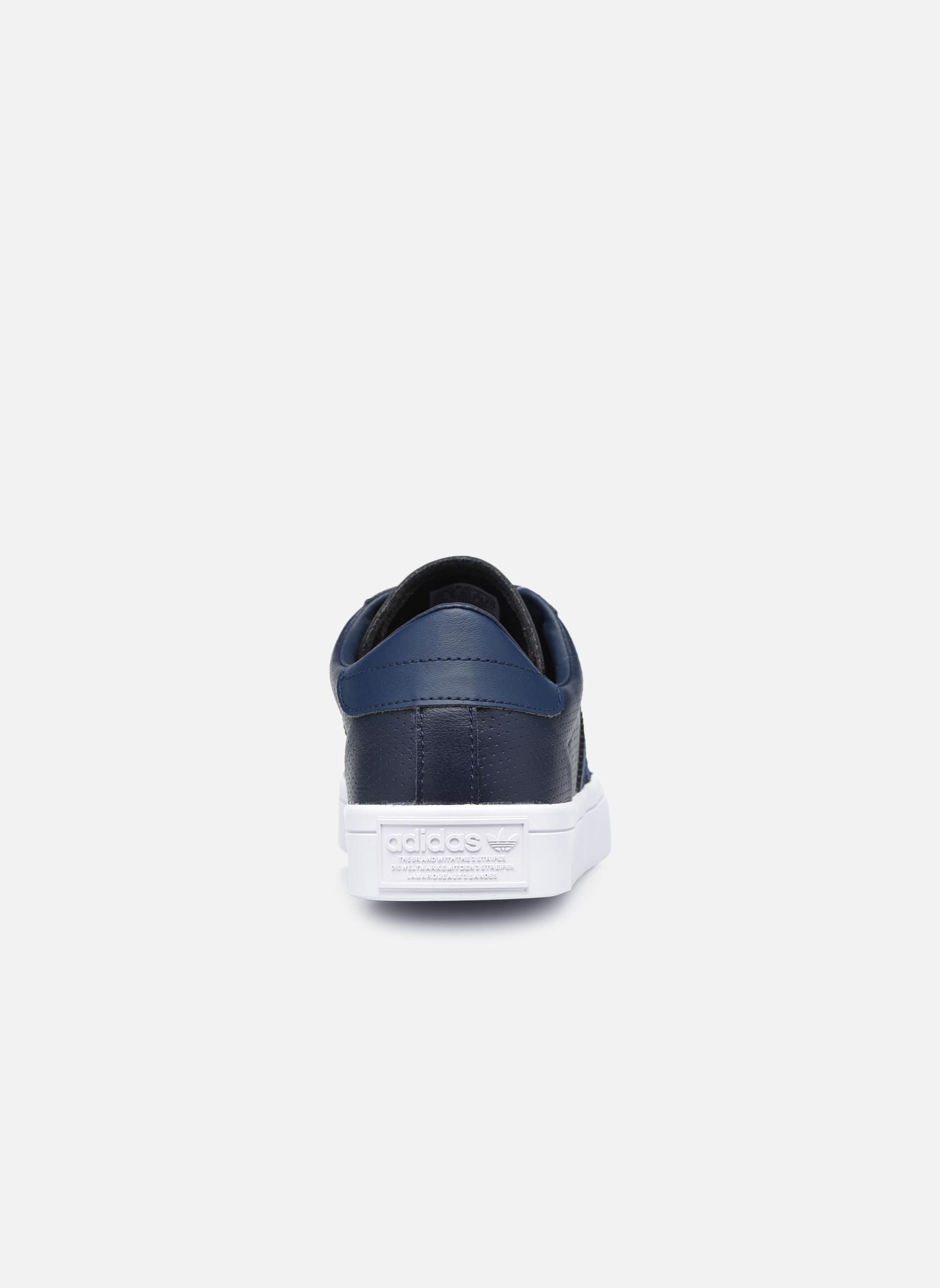 Sneakers Adidas Originals Court Vantage H Azzurro immagine destra