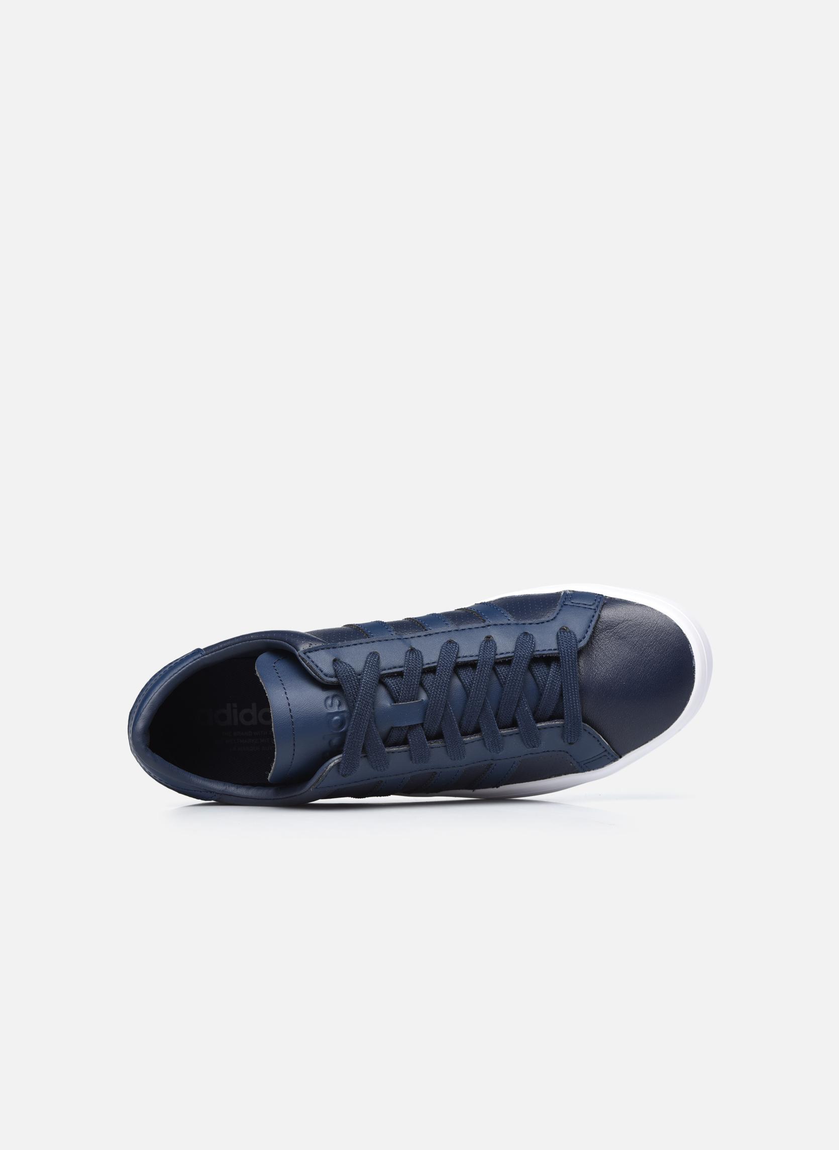 Sneakers Adidas Originals Court Vantage H Azzurro immagine sinistra